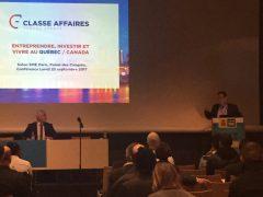 Classe Affaires au Salon SME, à Paris : une Première avec Québec International et Desjardins