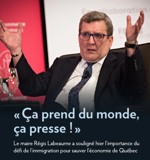 Le Québec recrute – Le défi de l'immigration